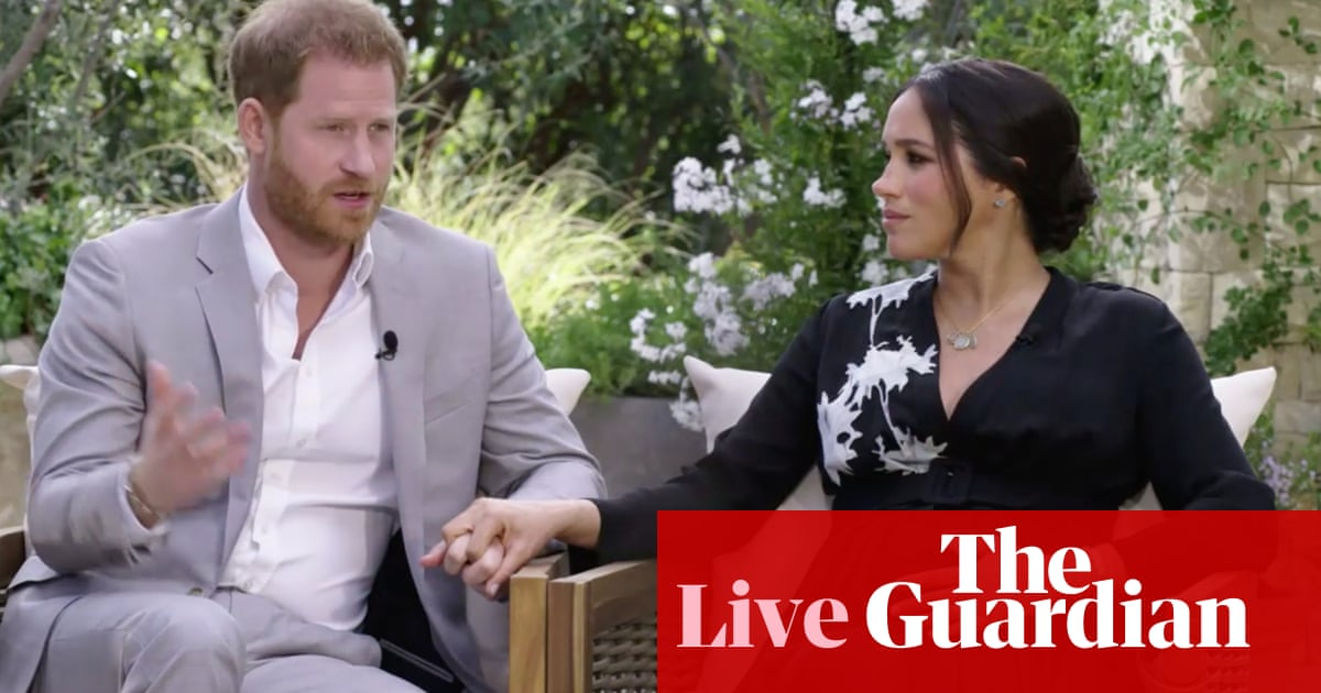 Harry and Meghan live: ITV broadcasts Oprah Winfrey interview in UK
