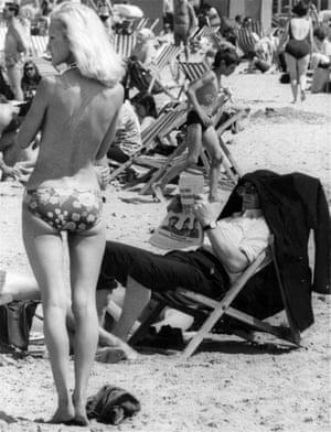 Margate beach in the 70s