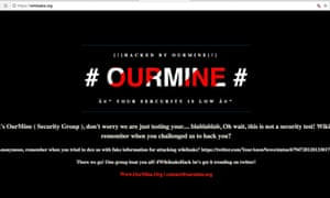 WikiLeaks 'hacked' as OurMine group answers 'hack us' challenge