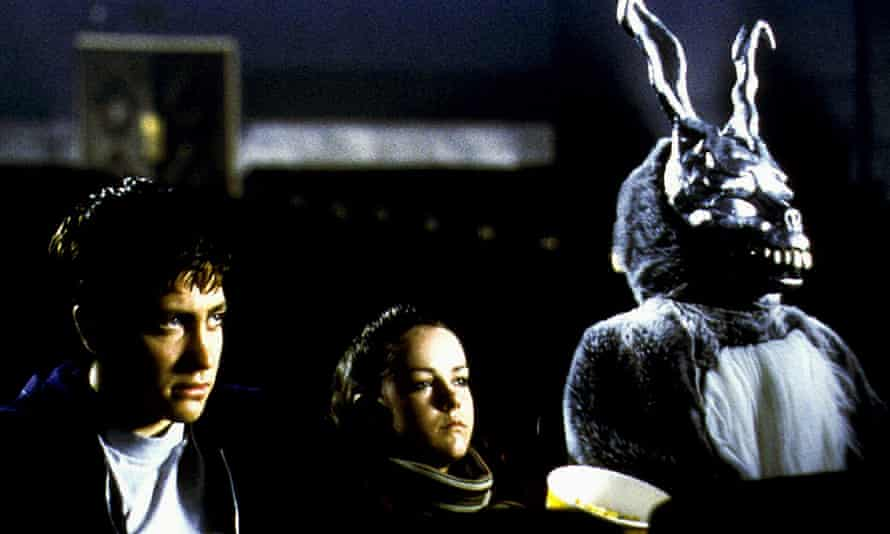 'I thought it was going straight to video' … Jake Gyllenhaal, Jena Malone and Frank the rabbit in 2001's Donnie Darko.