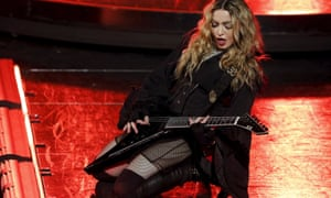 Madonna performs during her Rebel Heart Tour in Macau, China.