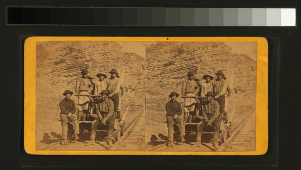 Railroad workers, about 1867