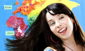 Sally Hawkins stars as a bubbly 30-year-old primary school teacher in the 2008 film Happy-Go-Lucky.