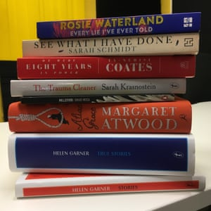 Steph Harmon's summer reading stack