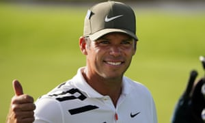 Thumbs up for Paul Casey's 65