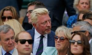Tennis royalty Boris Becker