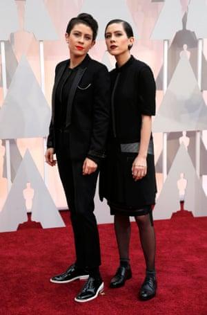 Musicians Tegan and Sara