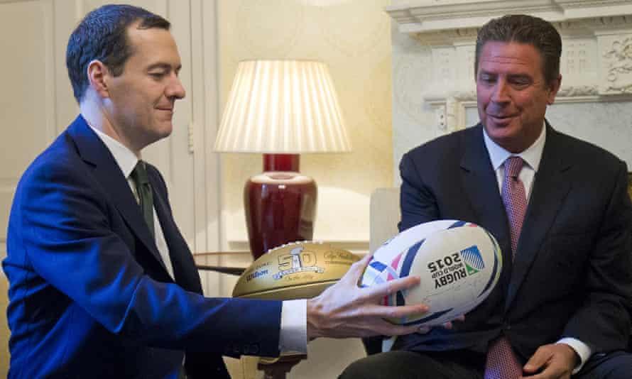 George Osborne and Dan Marino