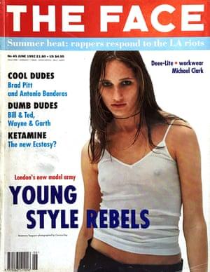 Rosemary Ferguson on the cover of The Face, June 1992.