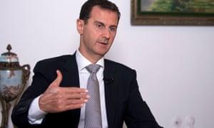 President Bashar al-Assad.