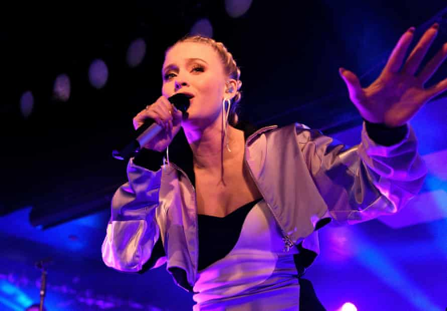 Zara Larsson performing at the Hippodrome earlier this year.