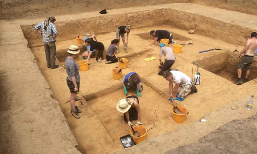 Archaeological site in Jersey where the marked stones linked to the Magdalenian culture were found.