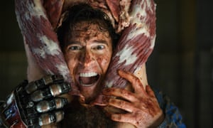 Pleased to meat you: Bruce Campbell as Ash Williams in Ash vs Evil Dead.