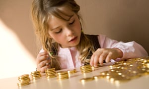 Reward saving by matching what your child puts aside or agreeing to put something towards it.