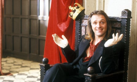 Rik Mayall on Jackanory, where he read Roald Dahl's George's Marvellous Medicine - Frank Cottrell Boyce remembers his rendition to this day.