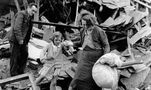 Family in the Blitz