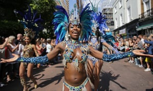 An image from the second day of last year's Notting Hill carnival.