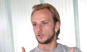 """Ivan Rakitic lived in a hotel for three months while at Sevilla, where he met his now wife. """"I started talking to her but she never wanted to go out with me,"""" the Croatia international says."""