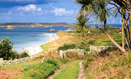 St Martins, looking towards Tresco, Isles of Scilly.