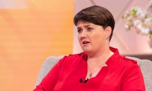 Ruth Davidson talking on ITV's Lorraine in her first interview since resigning as leader of the Scottish Tories.
