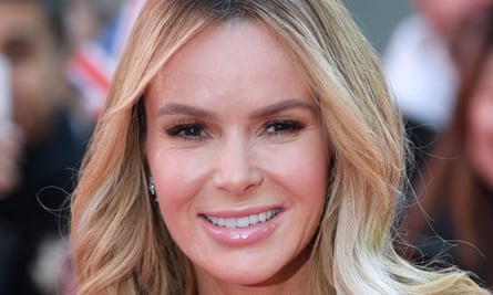 'I'll raise my glass to Nan and knock it back like a tequila shot': Amanda Holden.