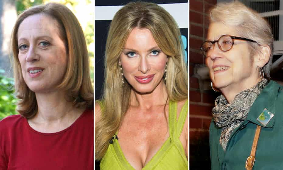 Trump accusers (left to right): Cathy Heller, Kari Wells and Jessica Leeds.