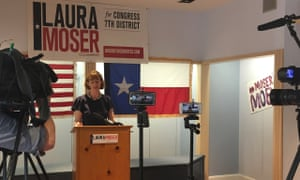 Laura Moser, a Democratic candidate for Texas's seventh congressional district. 'The only way to change the conversation is to grab a seat at the table.'
