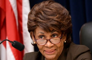 Maxine Waters has been a frequent target for Trump.