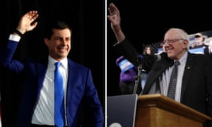 Pete Buttigieg and Bernie Sanders. Both are claiming victory.