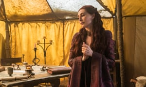 Canny category gaming ... Carice van Houten as Melisandre.