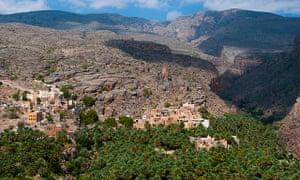 The village of Misfat al Abriyeen, Oman.
