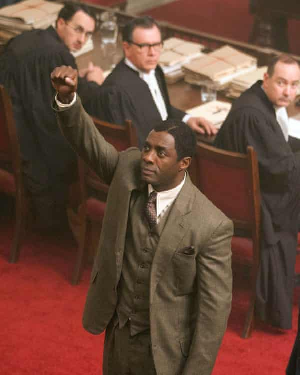 Channelling his own father … Elba in the title role of Mandela: Long Walk to Freedom, which fed into his new project.