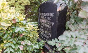 A Trump family grave in Kallstadt.