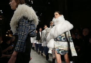 Burberry will no longer use real fur and angora in its clothes.