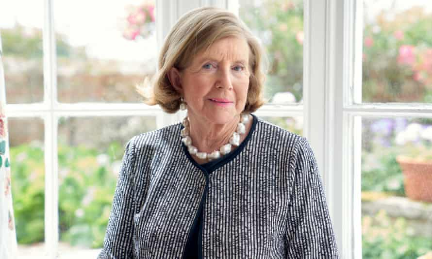 Anne Glenconner … 'I married down somewhat,' she says. Her husband Colin Tennant was only a baron.