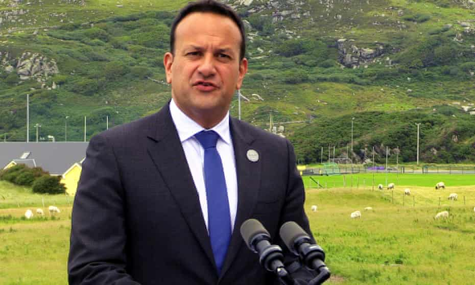 Leo Varadkar has said crashing out of the EU could increase the chance of the island of Ireland being reunited.