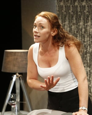 Patient and polite – until she isn't … Lucianne McEvoy as Ruth.