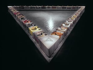 The Dinner Party 1974-79, by Judy Chicago