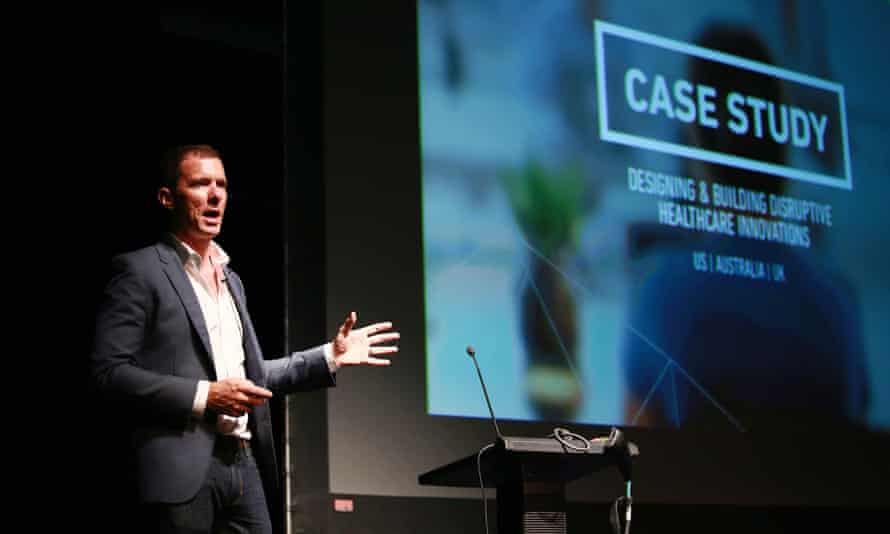 Michael Priddis, former founder and chief executive of strategic design firm S&C and partner and managing director of BCG Digital Ventures in Asia, at 2015 Singapore Business Design Summit