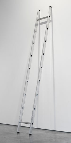 Ladder, 2010, by Ceal Floyer.