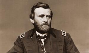 Ulysses S Grant, in his military uniform.