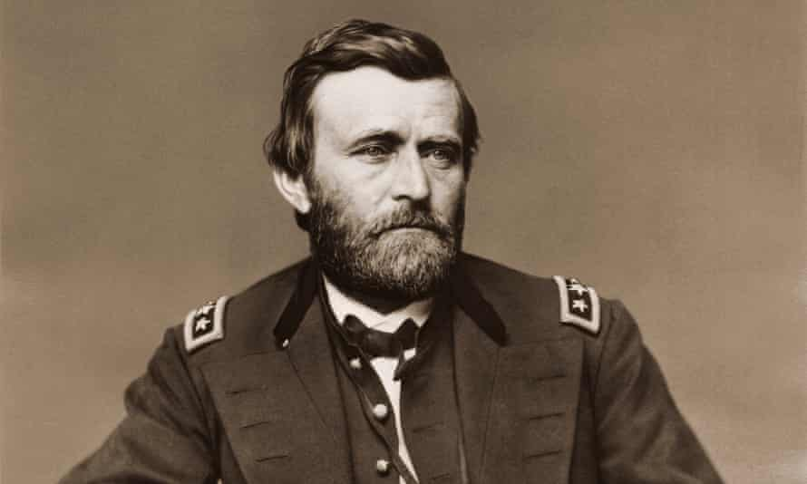 American military commander (and future US president) Ulysses S Grant, photographed towards the end of the civil war, 1865