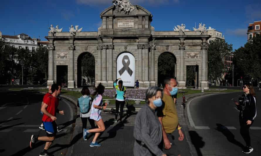 People  in Madrid, Spain