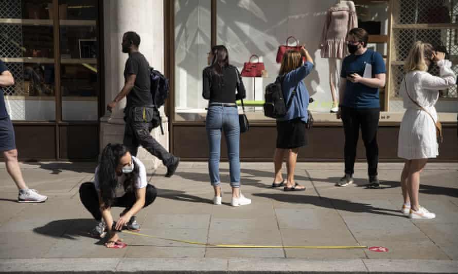 Regent Street, London, Tuesday 16 June.