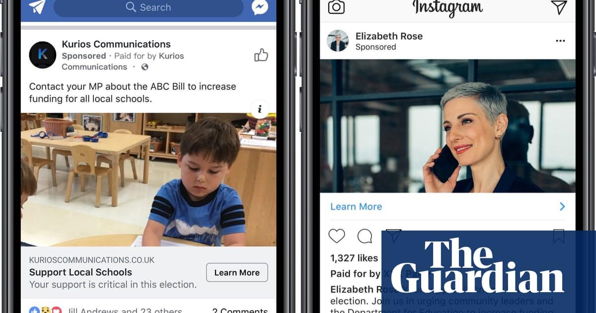 Facebook Cracks Down on 'dark Ads' by British Political Groups