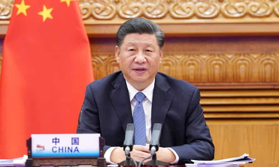 Chinese president Xi Jinping has congratulated Joe Biden on his election win.