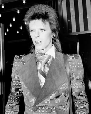 'When they realised how many girls they could pull while looking otherworldly,' recalled Bowie, 'they took to it like a duck to water.'