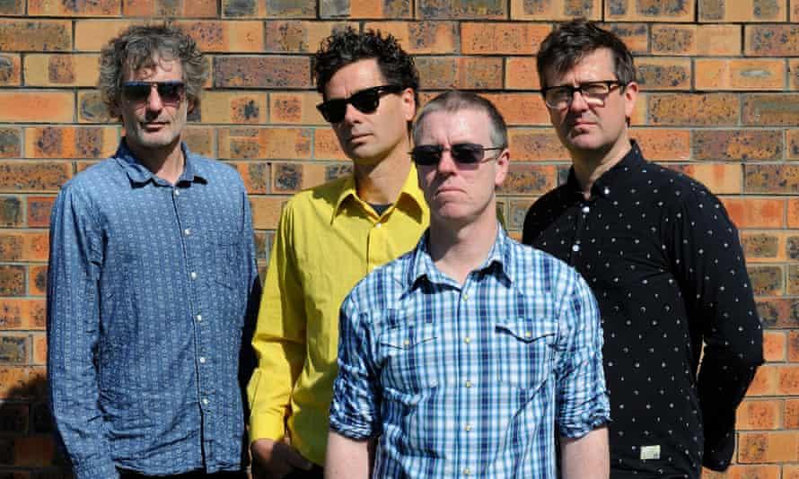 Custard: (from left) Matthew Strong, Glenn Thompson, Paul Medew and David McCormack.