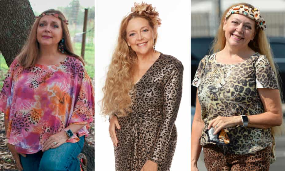 Carole Baskin … the most unlikely style icon of 2020?