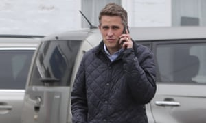 Gavin Williamson in Scarborough